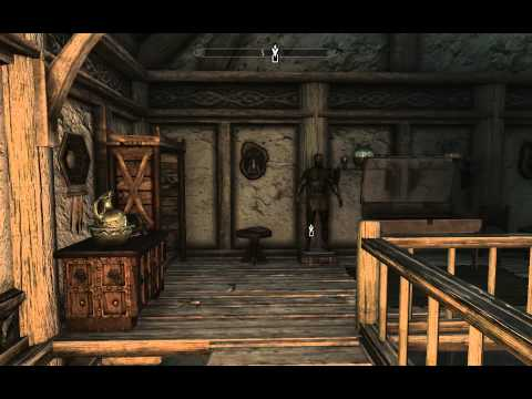 TES5 - Skyrim - Lakeview Manor: Entryway & Main Hall