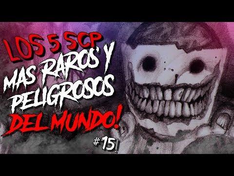 LOS 5 SCP MAS RAROS Y PELIGROSOS DEL MUNDO #15