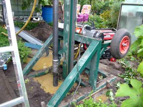 Brunnen bohren anleitung video