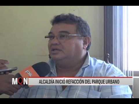 27/01/15 12:51 ALCALDÍA INICIÓ REFACCIÓN DEL PARQUE URBANO