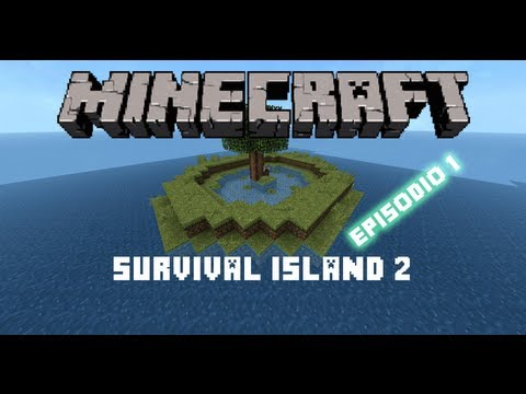Minecraft 1.4.7: Survival Island 2 (Mapa de Supervivencia) - Episodio 1 -