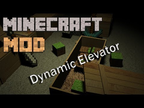 Minecraft Mods : Dynamic Elevator | 1.7.2/1.6.4 | Mod Showcase