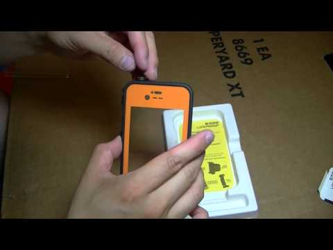 LifeProof iPhone 4 & 4S Unboxing & First Look
