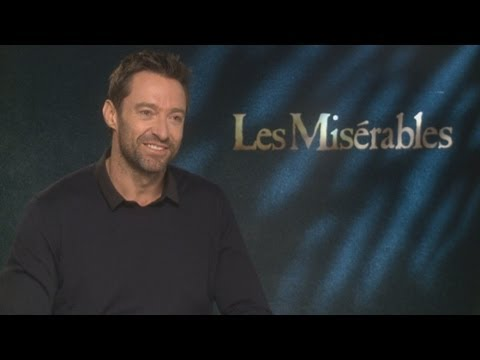 Interview: Les Miserables star Hugh Jackman on dieting and karaoke with Russell Crowe