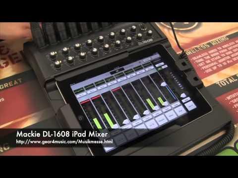 Musikmesse 2012: Mackie DL-1608 Digital iPad Mixer