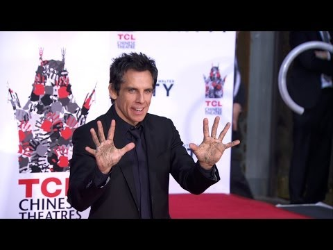 'Ben Stiller Hand/Footprint Ceremony' at the TCL Chinese Theater