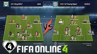 """FIFA ONLINE 4   AO LÀNG FIFA #1 VÒNG 1/8   Minh Thuận Vs Hoàng Linh: CẦN THÊM """" VAR """" VÀO FO4"""