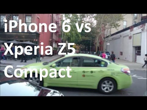 Sony Xperia Z5 Compact vs Apple iPhone 6 Camera Test