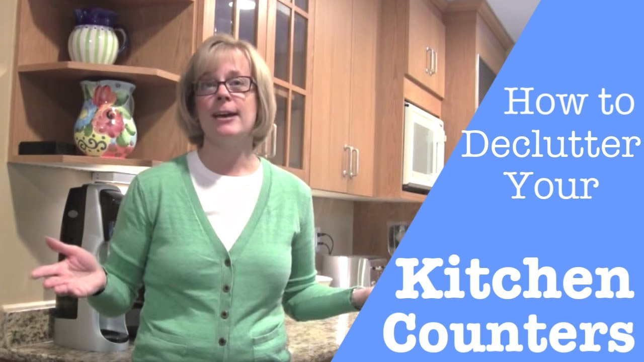 How To Declutter And How To Organize Your Kitchen Countertops Youtube