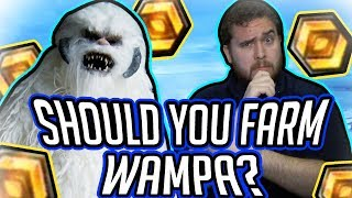 Should You Farm the Wampa? Arena, HAAT, and Dark Side TB Gameplay!   Star Wars: Galaxy of Heroes