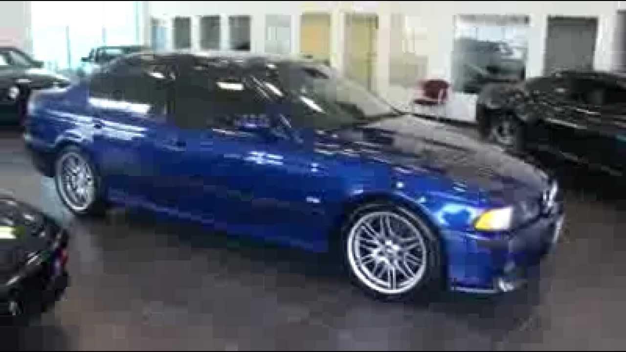 2000 Bmw E39 M5 For Sale Avus Blue Dinan Stage 1 Carbon