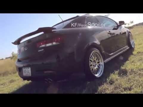Kia Forte Koup | KDM | Dropped |Body kit | King Fiber Design | Fussion Films
