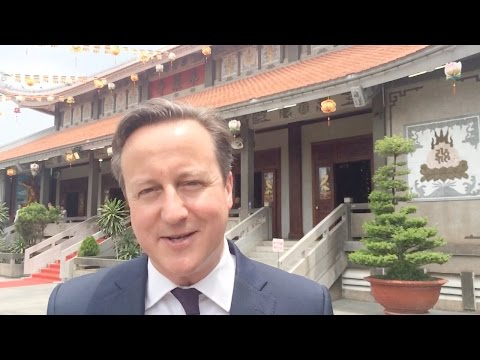 David Cameron: My trade mission to Southeast Asia