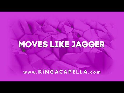 Maroon 5 feat. Christina Aguilera - Moves Like Jagger (Studio Acapella)