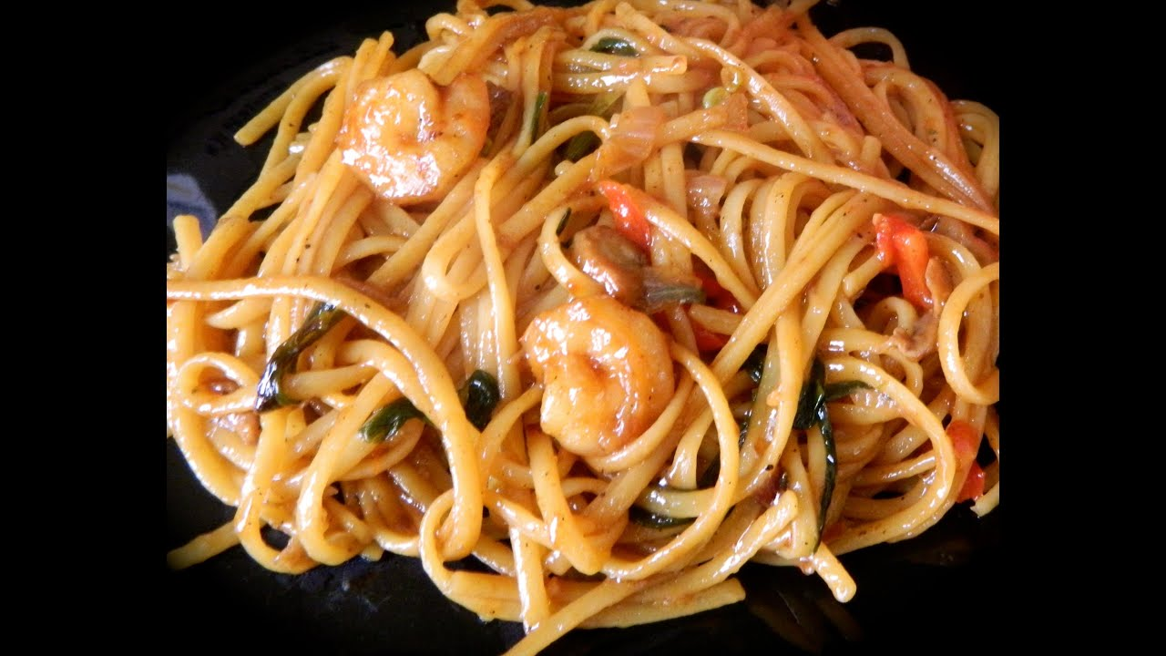 Beef And Shrimp lo Mein Shrimp lo Mein