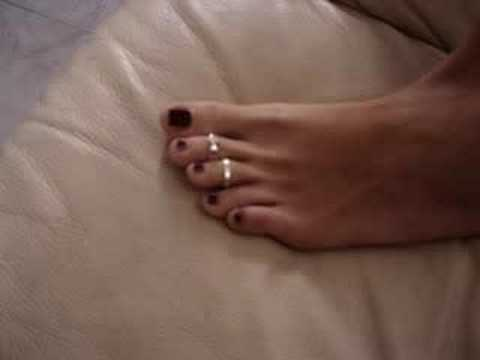 My new toe ring! Video