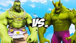 ULTIMATE HULK VS ULTIMATE GREEN GOBLIN