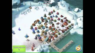 Boom Beach - JessieZX7 attacking woong, World Top 2, 7 ice