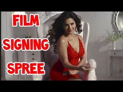 Sunny Leone on film signing spree