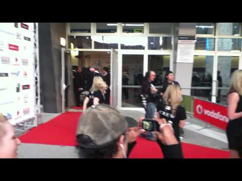 Red Carpet at The 45th Annual Vodafone New Zealand Music Awards 2010