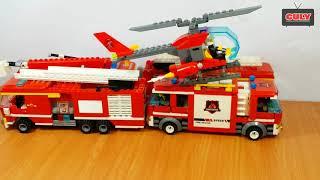Bộ sưu tập xe cứu hỏa lego đồ chơi của cu lỳ fire truck car toys collection