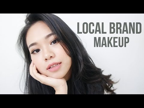 Full Face Indonesia Local Brand Makeup & Review   Eng Sub