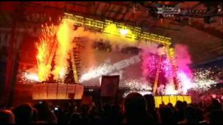 WWE Judgment Day (2009) Pyro