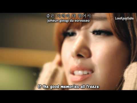 Song Ji Eun  - It's Cold (���) MV [English subs + Romanization + Hangul] HD