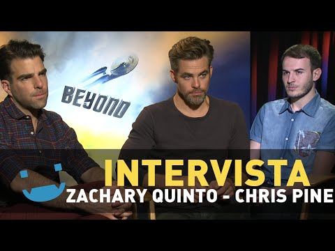Star Trek Beyond: Zachary Quinto and Chris Pine on Leonard Nimoy and Justin Lin's directing style