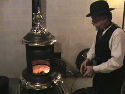 Best Coal Stove Ever Made Glenwood Base Heater Starting It