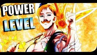 ESCANOR POWER LEVEL | Los mas Poderosos del Anime