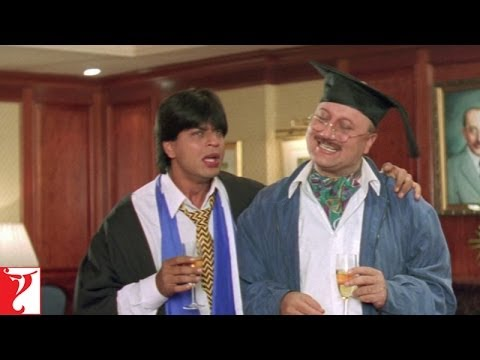 Raj failed in London - Comedy Scene- Dilwale Dulhania Le Jayenge...