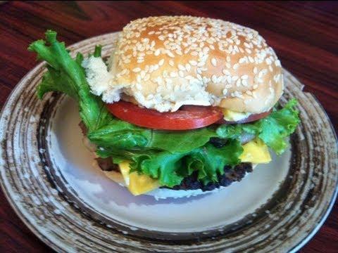 Como preparar unas ricas hamburguesas hechas en casita.