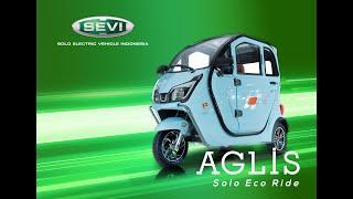 Review kendaraan listrik AGLIS
