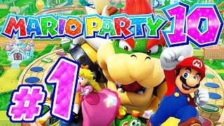 MARIO PARTY 10 # 01 ★ Bowsers irre Party! [4-Player / HD / 60fps]