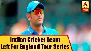 Know Why MS Dhoni Didn't Join Team India Before Leaving For UK | ABP News