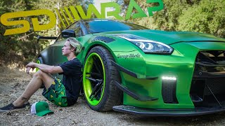GUACZILLA 2.0!!! Behind the scenes of the WORLDS MOST FAMOUS GTR!!!