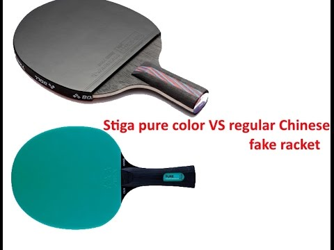 Stiga pure color vs Timo boll nano V review