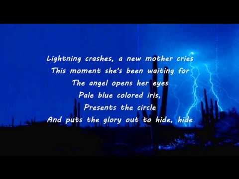 Live - Lightning Crashes (Lyrics)