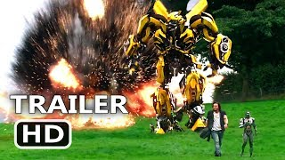 "TRANSFORMERS 5 ""Surprise Attack"" Movie Clip (2017) The Last Knight Movie HD"