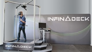 The NEW Infinadeck - CES 2016