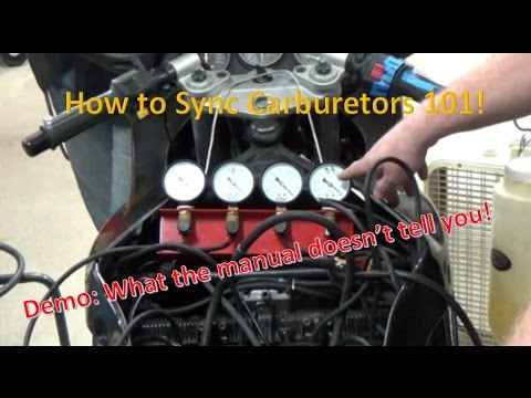How to sync carburetors throttle bodies the right and WRONG way!