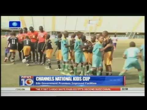 News@10: Falconets Beat Liberia 7-0 In World Cup Qualifier 25/07/15 Pt.4