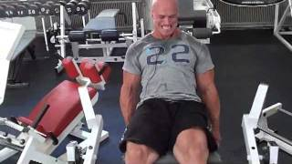 Insane hardcore leg workout 13 weeks out.