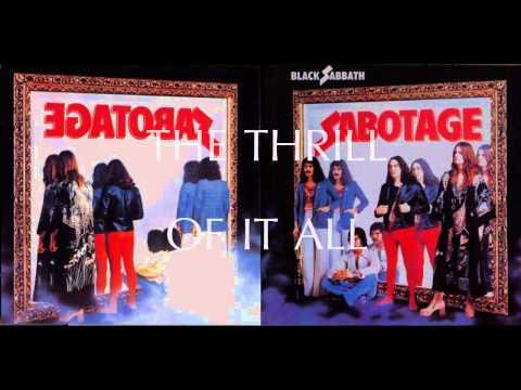 Black Sabbath - The Thrill Of It All