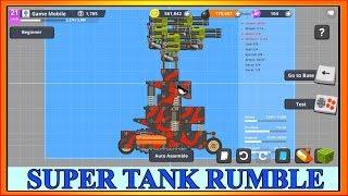 Game Xe Tăng | Pháo Đài Thất Thủ | Super Tank Rumble