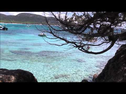 Palombaggia Beach south of Corsica island  -  France HD