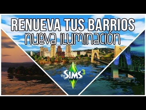 Los Sims 3   RENUEVA TUS BARRIOS SIN GASTAR NADA [Mod de iluminación]