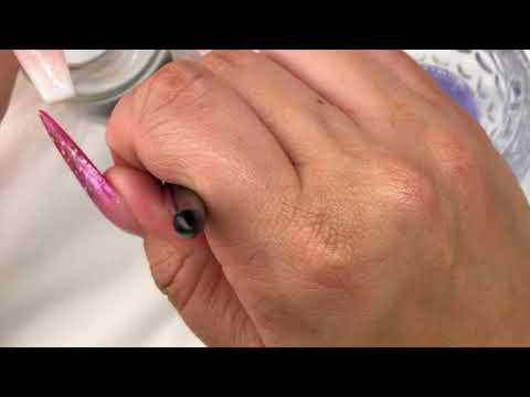 How to Create the perfect French Ombre/Baby Boomer nails using INK London Acrylink