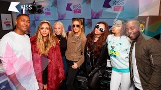 Little Mix play Little Whispers with Kiss Breakfast
